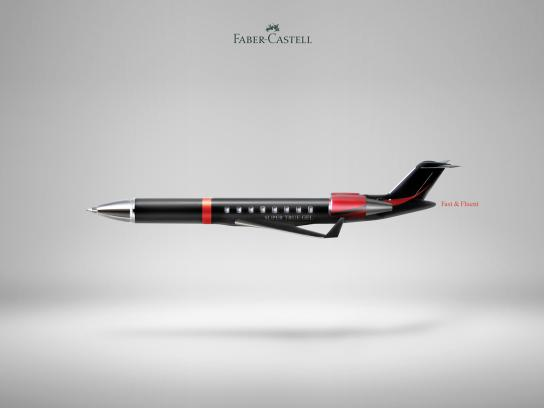 Faber-Castell Print Ad - Super True Gel, 1