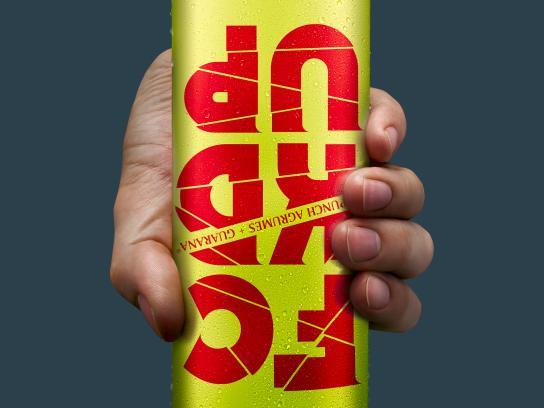 FCKDUP Print Ad - FCKDUP Drink, Yellow