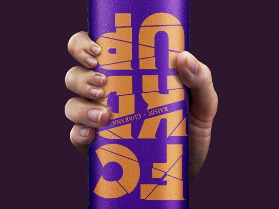 FCKDUP Print Ad - FCKDUP Drink - Mauve