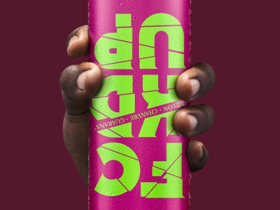 FCKDUP Print Ad - FCKDUP Drink - Rose