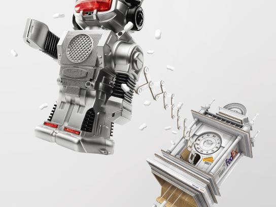FedEx Print Ad -  Cuckoo - Robot
