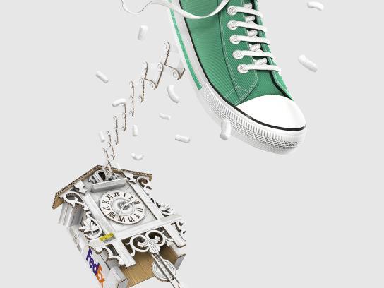 FedEx Print Ad -  Cuckoo - Sneaker