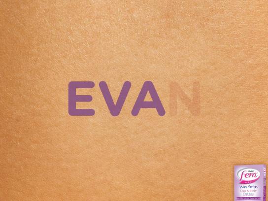 Fem Print Ad -  Eva