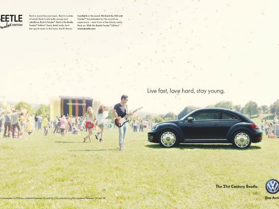 Volkswagen Print Ad -  Fender Edition, 1