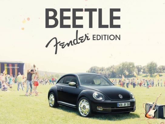 Volkswagen Print Ad -  Fender Edition, 4