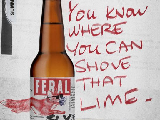 Feral Brewing Company Outdoor Ad -  Sly Fox