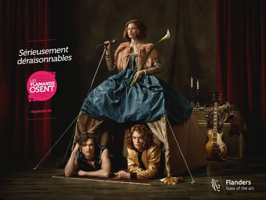 Visit Flanders Print Ad -  Seriously unreasonable, 3