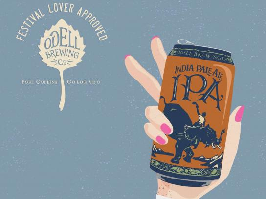 Odell Brewing Co Print Ad - Odell IPA Day - Festival Junkie