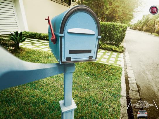 Fiat Print Ad -  Selfies - Mailbox