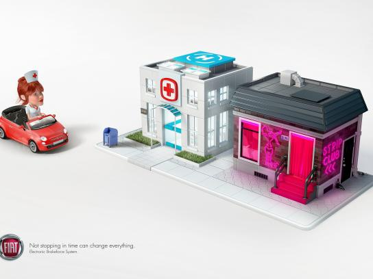 Fiat Print Ad -  Hospital