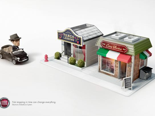 Fiat Print Ad -  Tango lessons