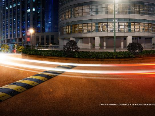 Fiat Print Ad -  Smooth driving