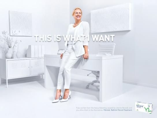 Fibristal Print Ad -  What