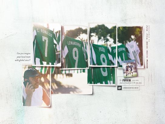 FIFA 16 Print Ad -  Ronaldo