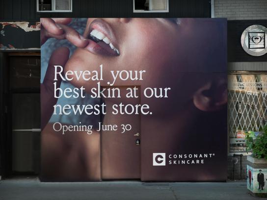 Consonant Skincare Outdoor Ad - Reskinning