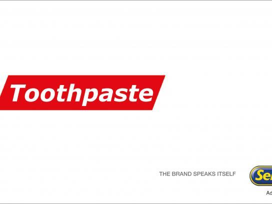 Sellotape Print Ad - Toothpaste