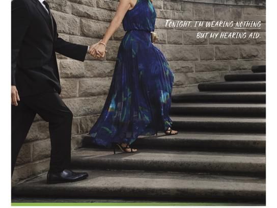 Phonak Print Ad - Wearing nothing