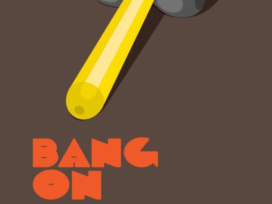 MTV Print Ad -  Bang on, 2
