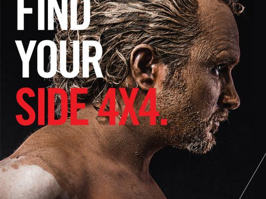 Mitsubishi Print Ad -  Find your side 4x4