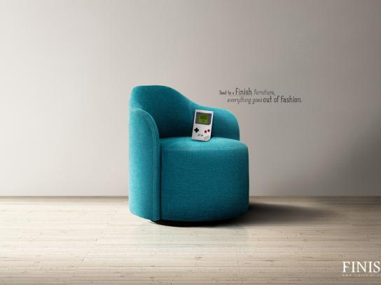 Finish Furnitures Print Ad -  Angry Birds