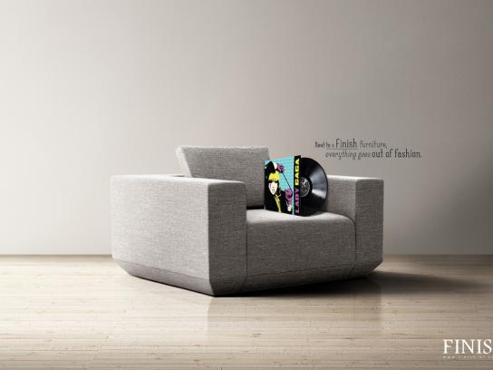 Finish Furnitures Print Ad -  Lady Gaga