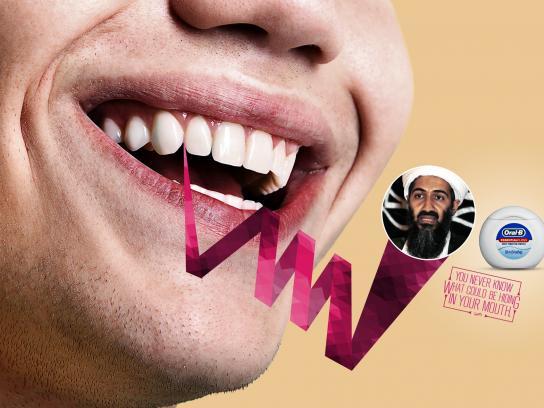 Oral-B Print Ad -  Hiding, 1