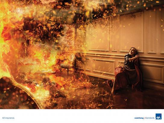 AXA Print Ad - Fire