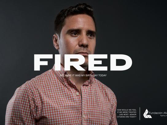 AMA 34 Foundation Print Ad - Fired