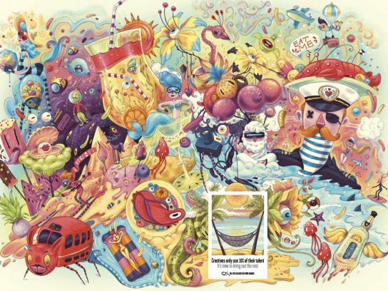 Gold Fish Awards Print Ad -  Creatives, 1