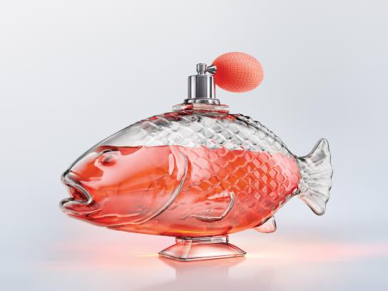 General Electric Print Ad - Fish