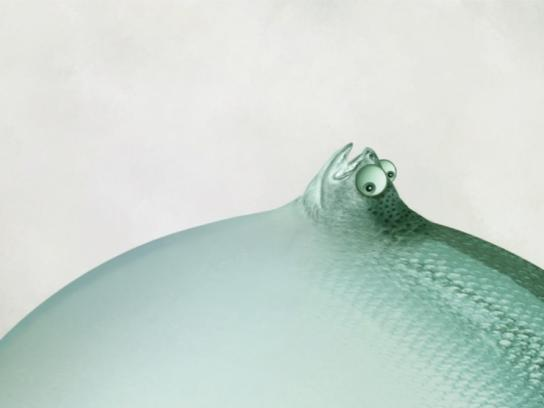 Aster Hospital Print Ad - Bloated Fish