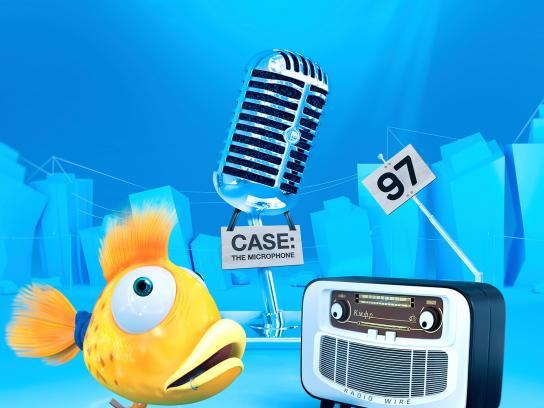 KIAF Print Ad - Microphone