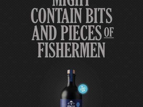 The Safe Sailing Council Print Ad - Fish Food, 2