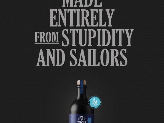 The Safe Sailing Council Print Ad - Fish Food, 3