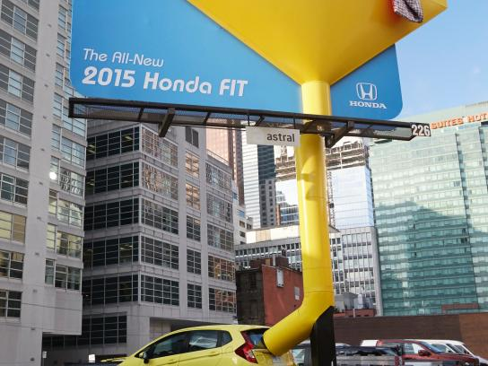 Honda Outdoor Ad -  Funnel