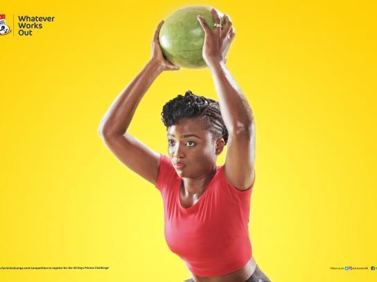 Three Crowns Milk Print Ad - Fitness Challenge, 4