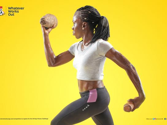 Three Crowns Milk Print Ad - Fitness Challenge, 5