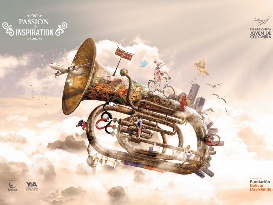 Filarmónica Joven de Colombia Print Ad -  Inspiration, 1