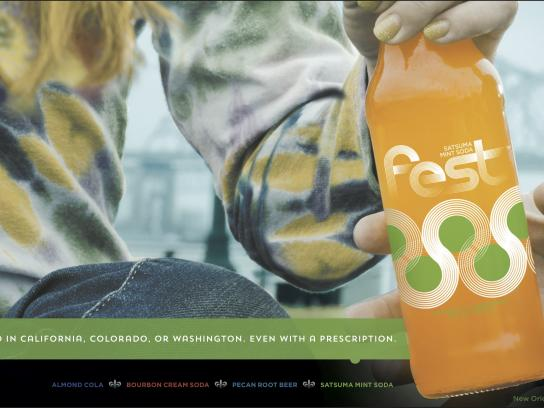 Fest Cola Outdoor Ad -  Flavor Is Our Birthright, 2