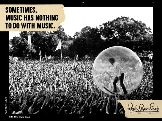 Live Nation Outdoor Ad -  Rock Paper Photo, 5