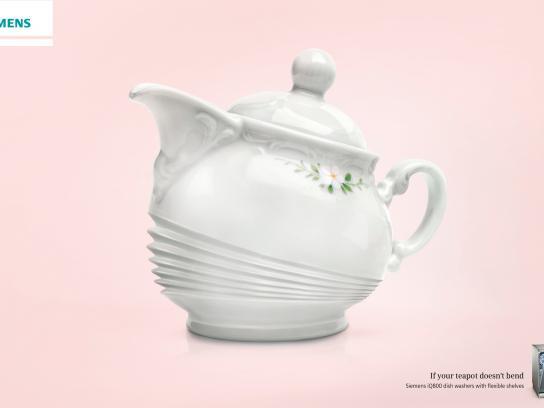Siemens Print Ad -  Flexibles, Teapot