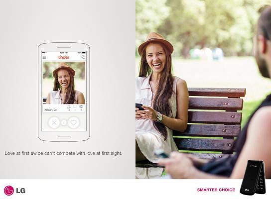 LG Print Ad - Flip Phone, 2