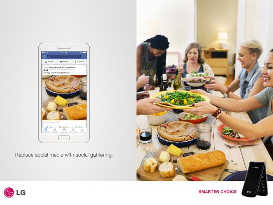 LG Print Ad - Flip Phone, 3