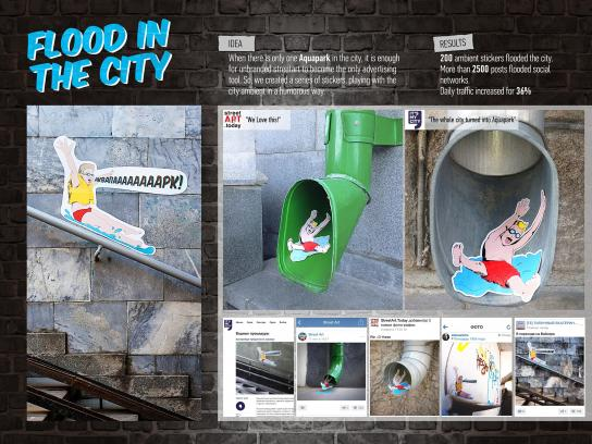 Aquapark Limpopo Ambient Ad -  Flood in the city