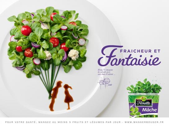 Florette Print Ad -  Freshness & Fantasy, 1