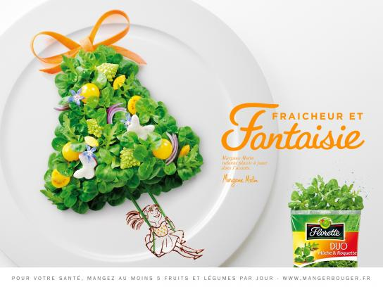 Florette Print Ad -  Girl