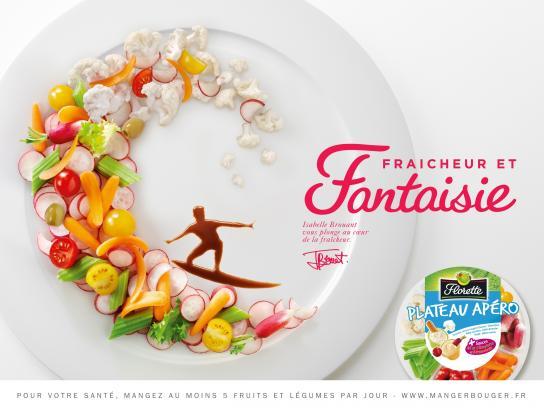 Florette Print Ad -  Surfer