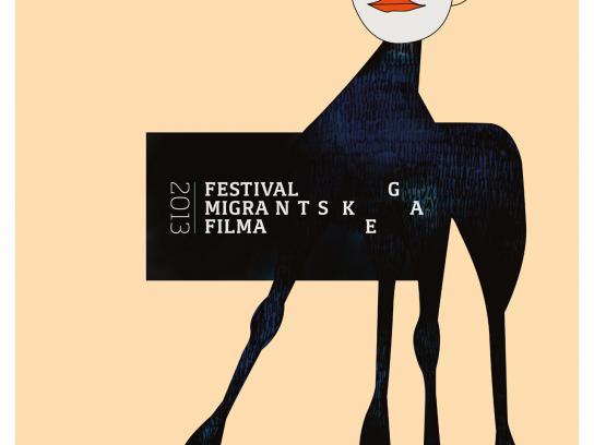 Festival of Migrant Film Print Ad -  Bambi