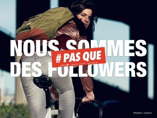 Citadium Print Ad -  We are followers