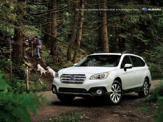 Subaru Outdoor Ad -  Followers